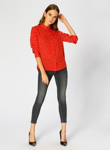 Vero Moda Gömlek Kırmızı